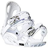 Chamonix Cheval Snowboard Bindings Mens Sz L White