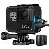 Sametop Frame Mount Housing Case Compatible with Go Pro Hero 7 Black, 7 Silver, 7 White, Hero 6 Black, Hero 5 Black, Hero (2018) Cameras