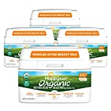 Happy Baby Organics Infant Formula, Milk Based Powder with Iron Stage 1, 21 Ounce (Pack of 4) packaging may vary