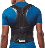 Back Brace Posture Corrector for Men and Women - Adjustable Posture Back Brace for Upper and Lower Back Pain Relief - Muscle Memory Support Straightener (Medium)