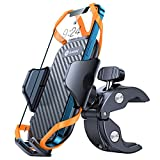 andobil Bike Phone Mount,【Super Stable & Anti Shake】 Universal Motorcycle Bicycle Handlebar Cell Phone Holder Compatible with iPhone 13 13 Mini 13 Pro Max 12 11 SE Xs X 8 7 Galaxy S21 Note20 and All