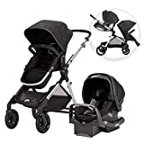 Pivot Xpand Modular Travel System with SafeMax Infant Car Seat, Stallion Black