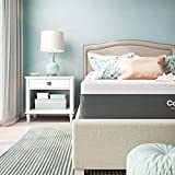 Classic Brands Cool Gel and Ventilated Memory Foam 12-Inch Mattress CertiPUR-US Certified, Twin XL, White