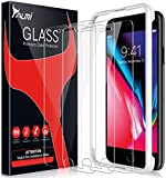 TAURI [3-Pack] Screen Protector for iPhone 7 Plus/iPhone 8 Plus, [Alignment Frame] Easy Install [Case Friendly] Tempered Glass Screen Protector