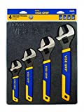 IRWIN VISE-GRIP Adjustable Wrench Set, SAE/MM, 4-Piece (2078706)