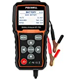 FOXWELL BT705 12V 24V Car Battery Tester Automotive 100-2000 CCA Battery Load Tester Auto Cranking and Charging System Test Scan Tool Digital Battery Analyzer for Vehicles and Heavy Duty Trucks