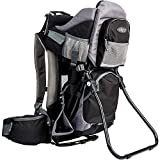 ClevrPlus Canyonero Camping Baby Backpack Hiking Kid Toddler Child Carrier with Stand and Sun Shade Visor   1 Year Limited Warranty