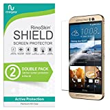 (2-Pack) RinoGear HTC One M9 Screen Protector Case Friendly Screen Protector for HTC One M9 Accessory Full Coverage Clear Film