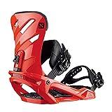 Salomon Rhythm Snowboard Bindings Mens Sz M (7-9.5) Red