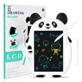 Caneocane LCD Writing Tablet, Kids Toys for 3 4 5 6 7 Years Old Boys Girls, LCD Drawing Board Pads for Kids, Digital Doodle Board for Educational and Learning (White-Panda)