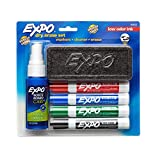 EXPO Dry Erase Marker Starter Set, Chisel Tip, Assorted Colors, 6 Piece