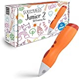 MYNT3D Junior2 3D Pen for Kids [2020 Model] Child Safe Low Temperature Printing Pen (NOT Compatible with ABS/PLA)