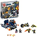 LEGO Marvel Avengers Truck Take-Down 76143 Captain America and Hawkeye Superhero Action, Cool Minifigures and Vehicles (477 Pieces)