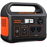 Jackery Portable Power Station Explorer 300, 293Wh Backup Lithium Battery, 110V/300W Pure Sine Wave AC Outlet, Solar Generator (Solar Panel Not Included) for Outdoors Camping Travel Hunting Blackout