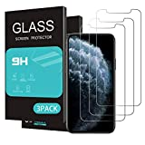 HOMEMO Screen Protector Compatible for iPhone 11 Pro/iPhone Xs/iPhone X Screen Protector 3 Pack 5.8inch Display,Tempered Glass
