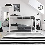 DHP Junior Twin, Low Bed for Kids, White Bunk
