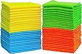 50 Pack - SimpleHouseware Microfiber Cleaning Cloth (12' x 16')