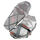 Yaktrax Run Traction Cleats for Running on Snow and Ice (1 Pair), Large