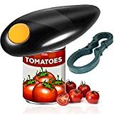 Electric Can Opener, Smooth Edge Automatic Electric Can Opener, One-touch switch, Restaurant Can Opener, Chef's Best Choice, Best Kitchen Gadget for Arthritis