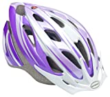 Schwinn Thrasher Bike Helmet, Lightweight Microshell Design, Child, Purple/White
