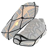 Yaktrax Walk Traction Cleats for Walking on Snow and Ice (1 Pair), Large
