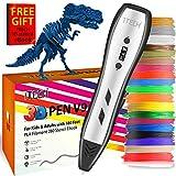 7TECH 3D Pen for Kids Adults with 180 Feet PLA Filament Refills 280 Stencil Ebook(Sent Through Amazon Message) Printing Printer Pen