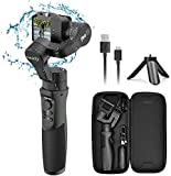 3-Axis Handheld Gimbal Stabilizer for GoPro Action Camera, Splash Proof Gimbal Tripod Stick with Motion Time-Lapse APP Control for Gopro Hero 7/6/5/4, SJCAM, YI Cam, Sony RX0 - Hohem iSteady Pro 2