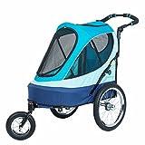 PETIQUE All Terrain Jogger-Sailboat Pet Stroller, Sailboat, One Size