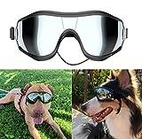 NVTED Dog Sunglasses Dog Goggles, UV Protection Wind Protection Dust Protection Fog Protection Pet Glasses Eye Wear Protection with Adjustable Strap for Medium or Large Dog