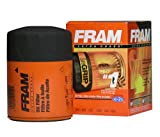 Fram PH16 Extra Guard Passenger Car Spin-On Oil Filter (Pack of 2)