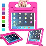 AVAWO Kids Case for iPad Mini 1 2 3 - Light Weight Shock Proof Handle Stand Kids for iPad Mini, iPad Mini 3rd Generation, iPad Mini 2 with Retina Display - Rose