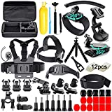 61 in 1 Action Camera Accessories Kit for GoPro Hero 8 7 6 5 4 Hero Session 5 Black SJ4000 5000 6000 Xiaomi Yi AKASO Campark Action Camera