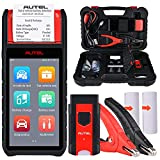 Autel MaxiBAS BT608 Car Battery Tester, All Systems Diagnostics, 2021 Car Battery Cold Cranking Electrical Diagnostic Test Scanner, Adaptive Conductance, Multimeter, Lifetime Free Update