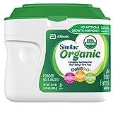 Similac Organic Non-GMO Infant Formula, Powder, Baby Formula, 23.2 ounces, 6 Count