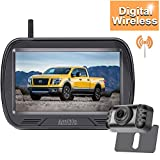 AMTIFO HD Digital Wireless Backup Camera with Monitor Kit Hitch Rear View Camera for Trucks,Cars,Pickups,Campers Smaller RVs Rear/Front View IP69 Waterproof W3