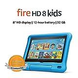 Fire HD 8 Kids tablet, 8' HD display, 32 GB, Blue Kid-Proof Case