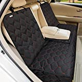 BABYLTRL Dog Car Seat Cover Waterproof Pet Bench Seat Cover Nonslip and Heavy Duty Pet Car Seat Cover for Dogs and Armrest Fits Cars, Trucks and SUVs (L)