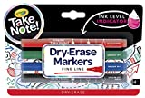 Crayola Take Note Fine Tip Dry Erase Markers - 4 Count