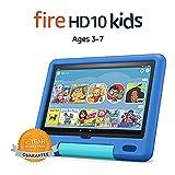 All-new Fire HD 10 Kids tablet, 10.1', 1080p Full HD, ages 3–7, 32 GB, Sky Blue