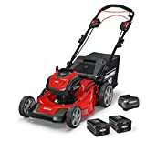 Snapper XD 82V MAX Cordless Electric 21-Inch Self-Propelled Lawn Mower Kit with (2) 2.0 Batteries & (1) Rapid Charger