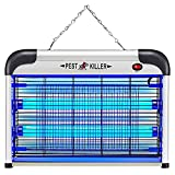 Electric Bug Zapper/Pest Repeller Control-Strongest Indoor 2800 Volt UV Lamp Flying Fly Insect Killer Mosquitoes Files Killer Repellent Traps Eliminator Catcher Lure Zap Kills Mosquito