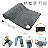 SARCCH 30' x 16' Heating Pad, Electric Heating Pad for Moist & Dry Heat, 6 Electric Temperature Options, 4 Temperature Settings-Auto Shut Off -Machine Washable-King Size Heated Pad (XXXL)