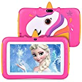 Kids Tablet,7 inch Android 9.0 Kids Edition Tablet with WiFi,GMS Certified, 2GB+16GB Tablet for Kids,Children Tablet with Parental Control, Kids-Proof Case