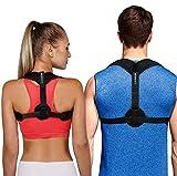 Posture Corrector for Women Men - Back Brace - USA Designed - Adjustable Back Straightener - Comfortable Posture Trainer for Spinal Alignment and Posture Support