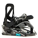 Burton Grom Snowboard Bindings Sz Kids (1k-3k) Black