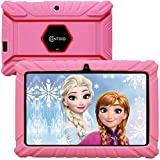Contixo V8-2 7' Edition Android 16GB Kids Tablet Parental Control 20 Learning Education Apps on Google Certified Playstore Toy Tablet for Kids, Kids- Proof, WiFi Camera Best Gift (Pink)