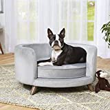 Enchanted Home Pet Rosie Sofa - Grey, Medium (CO3201-18GRY)