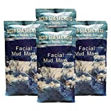 Premier Dead Sea Mud Mask, 4 Pack, Authentic from Israel Natural Organic Spa Quality Skin Care Mud and Minerals, Excellent for Acne Blemishes Eczema Psoriasis, Fantastic Anti Aging Firming and Lifting