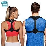 Posture Corrector for Women Men - Posture Brace - FDA Approved, USA Designed - Adjustable Back Straightener - Comfortable Posture Trainer for Spinal Alignment and Posture Support