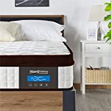 DreamQi Full Hybrid Memory Foam Mattress for Cool Sleep More Pressure Relief & Stronger Edge Support,12 Inch Innerspring Comfortable Mattress,Bed in a Box (Full, 12inch)
